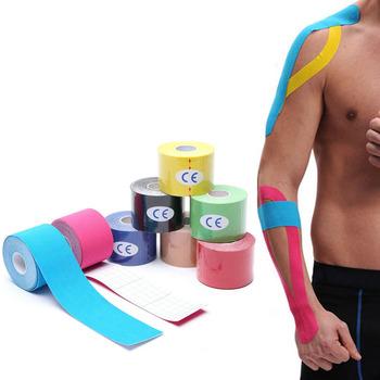 KoKossi One Piece taśma kinezjologiczna bandaż mięśni sport bawełna elastyczna taśma klejąca uraz kolana ból mięśni ulga tanie i dobre opinie CN (pochodzenie) Cotton Kinesiology Tape Boxing Kinesiology Tape 15 Color and 5 Size Available show as pictures 2 5cm*5m 3 8cm*5m 5cm*5m 7 5cm*5m 10cm*5m(option)