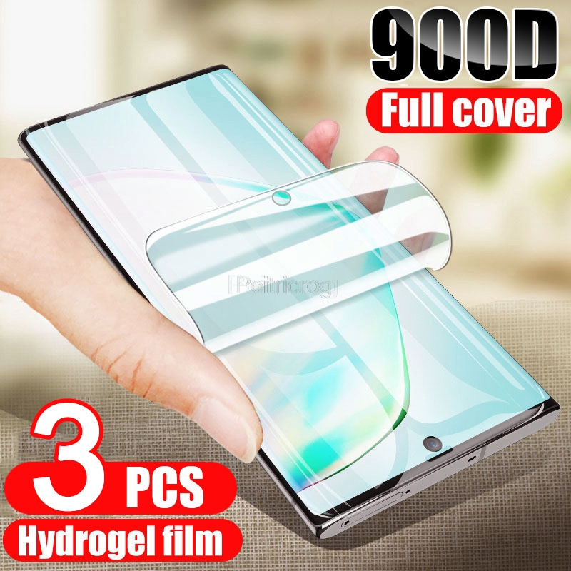 Hydrogel Film Screen Protector For Samsung Galaxy S21 Ultra S20 FE S10 S9 S8 Plus A52 A51 A50 A12 A71 A70 A21S Protective Cover