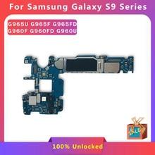 Original 64GB Motherboard Entsperrt Sauber IMEI Für Samsung Galaxy S9 Plus G960F G960FD G960U G965F G965U G965FD Logic Wichtigsten bord