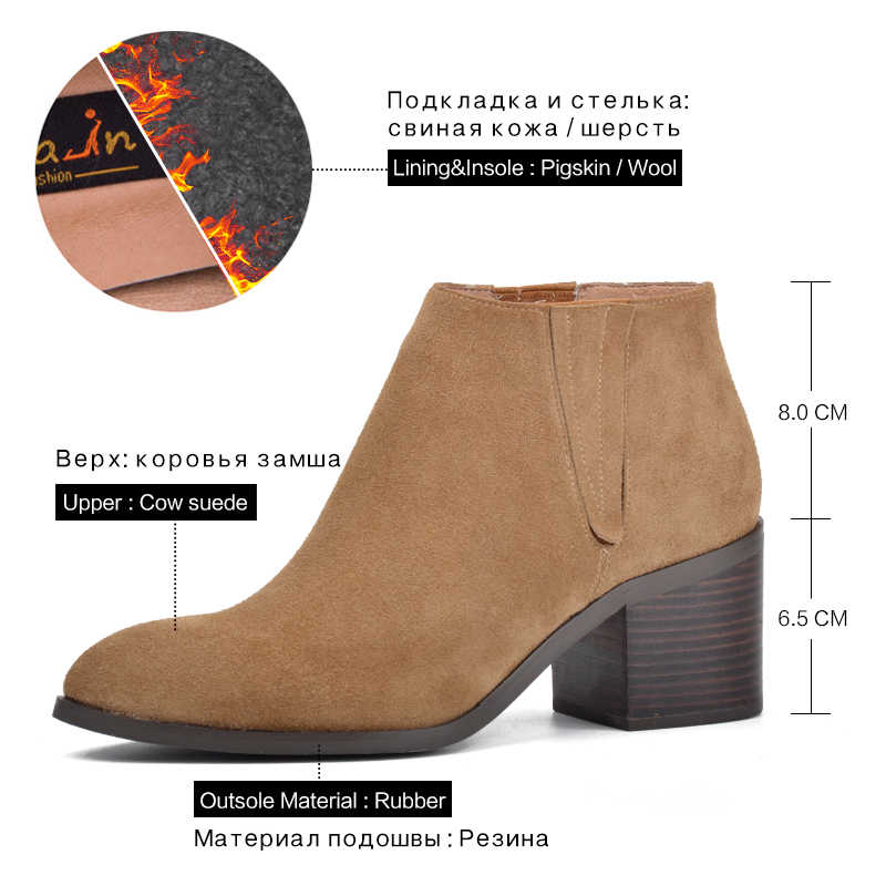 Tasfiye Satışı Donna-in yarım çizmeler Kadınlar Için Hakiki Deri Yüksek Topuk Sivri Burun Moda Patik Kadın Ayakkabı Bayan Botları
