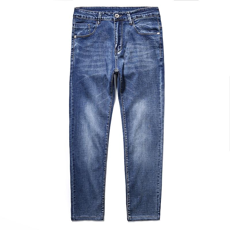 2020 Brand Slim Fit Jeans  Autumn New Men Jeans Black Classic Fashion Designer Denim Skinny Jeans Men's Casual  8 Colors