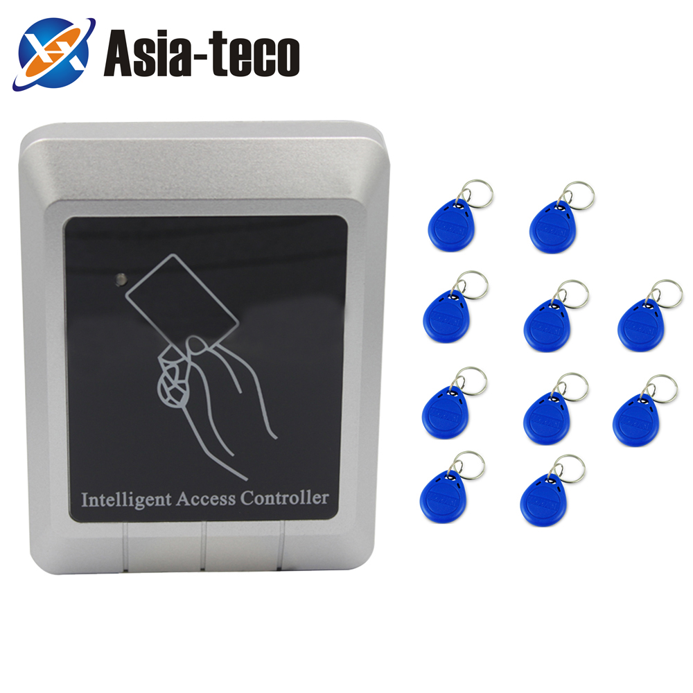 RFID Access Control System Device Machine Waterproof No Keypad 125Khz RFID Security Proximity Entry Lock Controller
