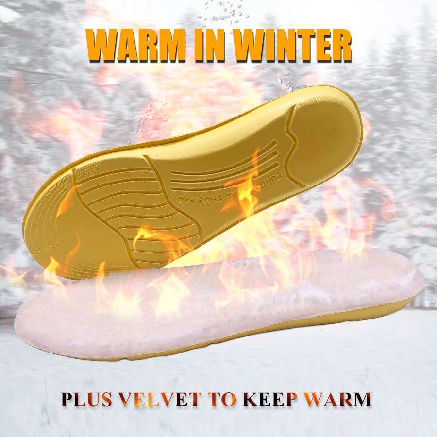 Plantillas cálidas climatizadas para invierno, suelas para zapatos, almohadilla suave y grueso, plantillas cálidas de Cachemira, plantillas térmicas, botas de nieve, plantillas de piel, almohadillas Suemit 4 Uds. De tacón alto, suela antideslizante, suela protectora para zapatos, cinta de suela autoadhesiva transparente, tamaño grande
