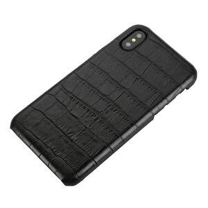 Image 2 - Solque funda de piel auténtica para iPhone X XS MAX XR 7 8 Plus, funda delgada de cocodrilo de lujo