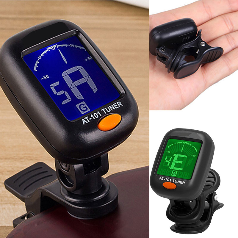 Metronome Bass Calibrating Device Guitar Tuner Sturdy Tuner Black 440hz Euge Lilly Tool Plastic Automatic Sound Correction