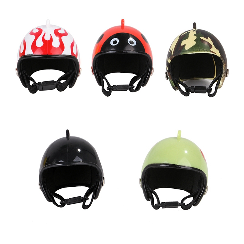 NEW 1Pcs Plastic Cute Chicken Hat Chicken Helmet Protection Head Cover Small Pet Hard Hat Bird Headgear Pet Supplies Hat Costume