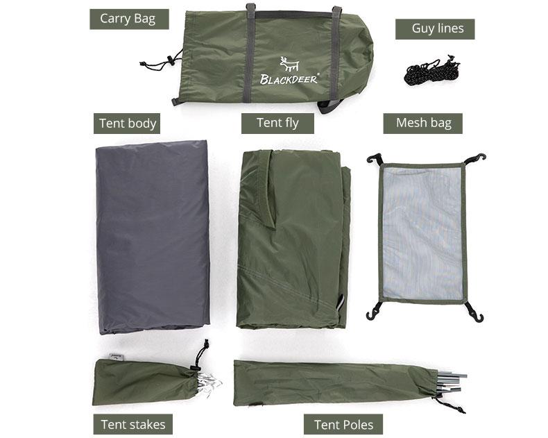 Blackdeer Archeos Waterproof 2 People Backpacking Tent Outdoor Camping