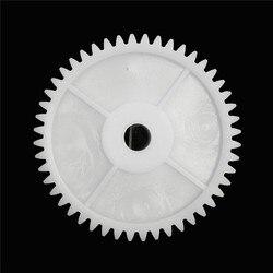 Trou d'engrenage en plastique blanc 8mm 1 pièce, pour moteur 550 voiture pour enfants, fournitures d'équipement électrique, accessoire d'engrenage de moteur
