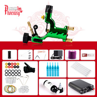 Beginner Tattoo Kit Rotary Machine Gun Mini Power Tattoo Amp Body Art Painting Makeup Complete Accessories Tattoo Set