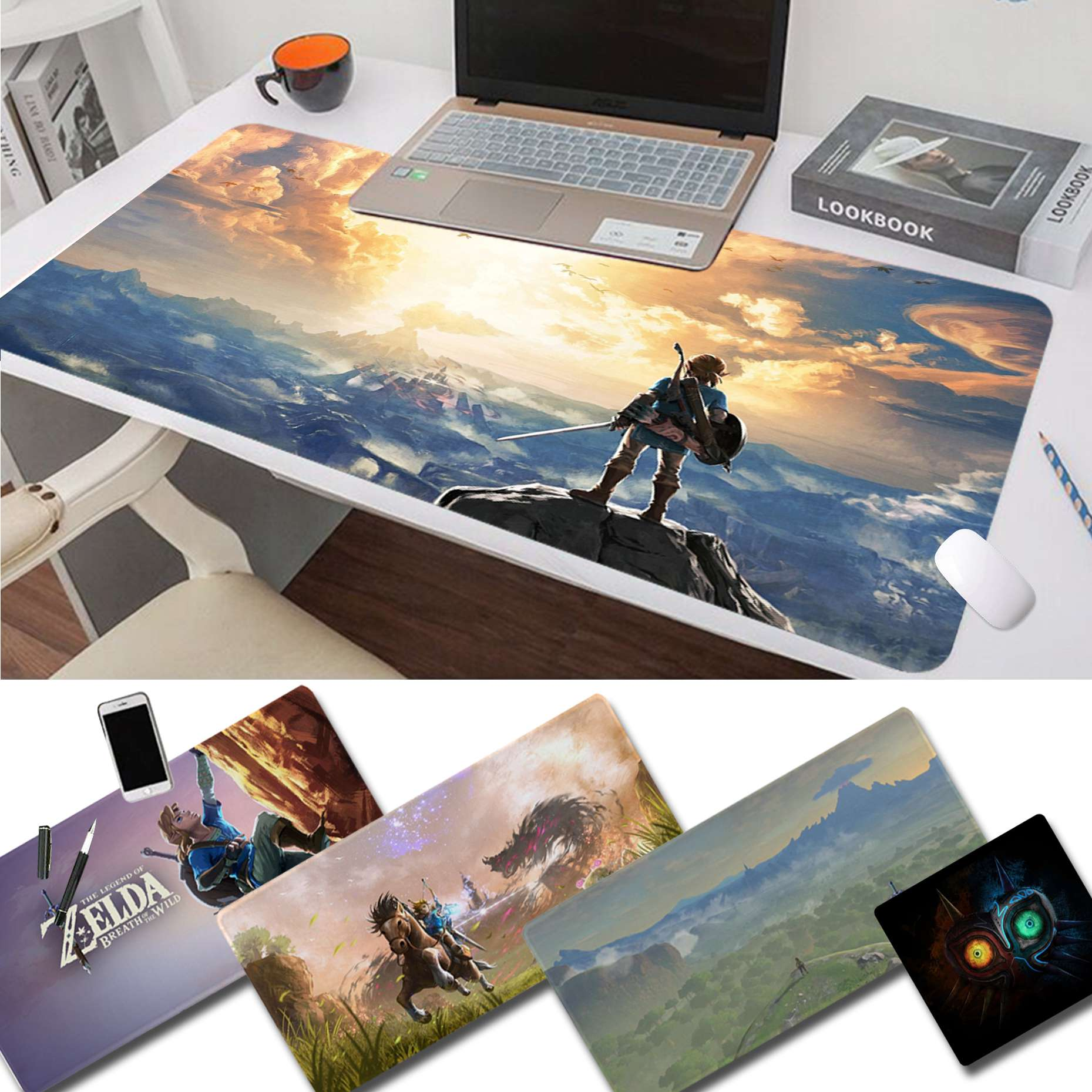 Maiya The Legend Of Zelda Breath Of The Wild Gamer Speed Mice Small Rubber Mousepad Free Shipping Large Mouse Pad Keyboards Mat