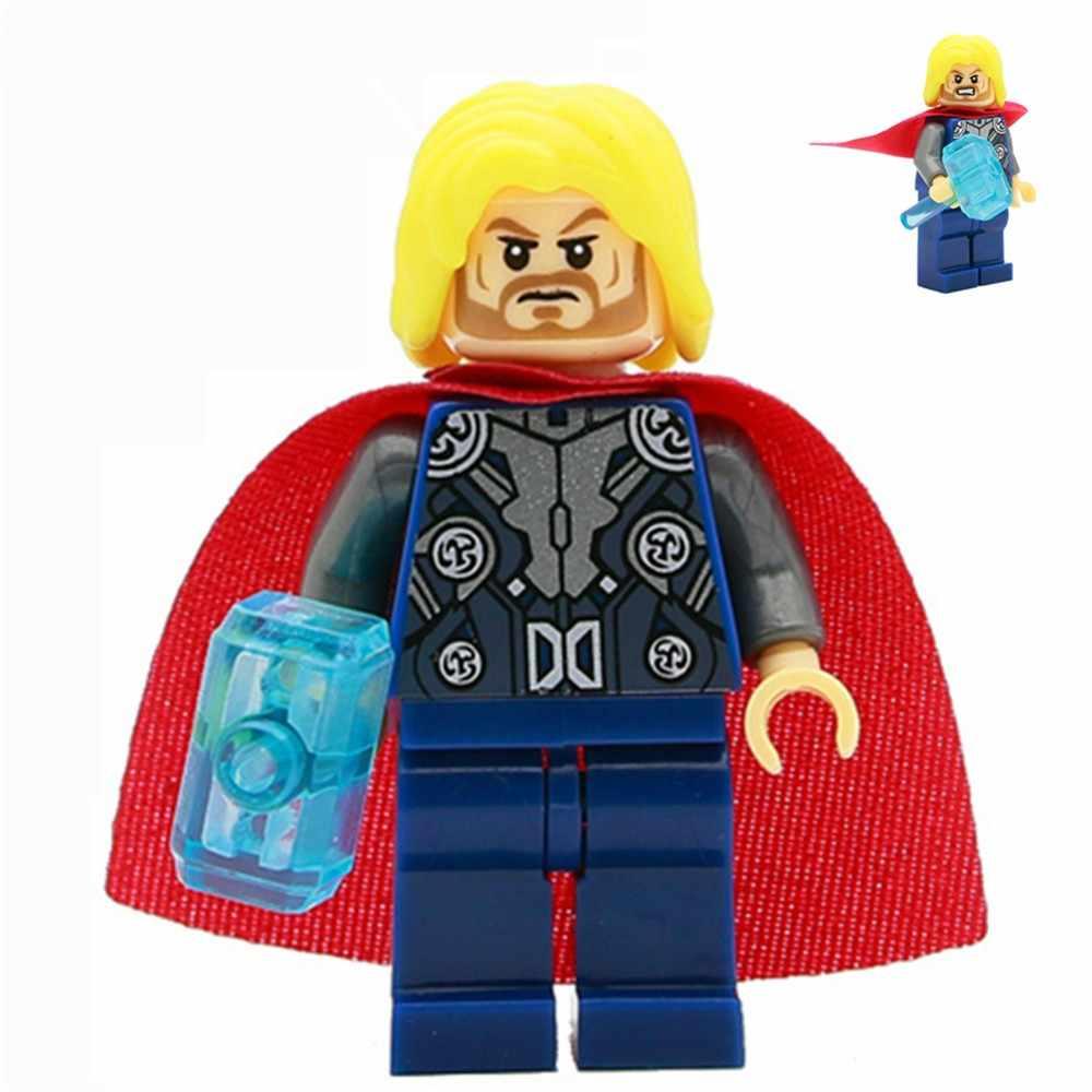 互換性 Legoinglys スーパーヒーロー、キャプテン · アメリカアイアンマンバットマンハルクアクションフィギュアのおもちゃ子供のおもちゃ