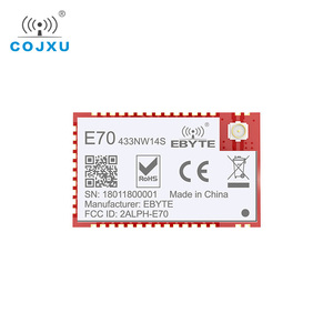Image 3 - E70 433NW14S 스타 네트워킹 CC1310 433 mhz SMD 무선 트랜시버 IoT 14dBm 433 mhz IPEX 안테나 송신기 및 수신기