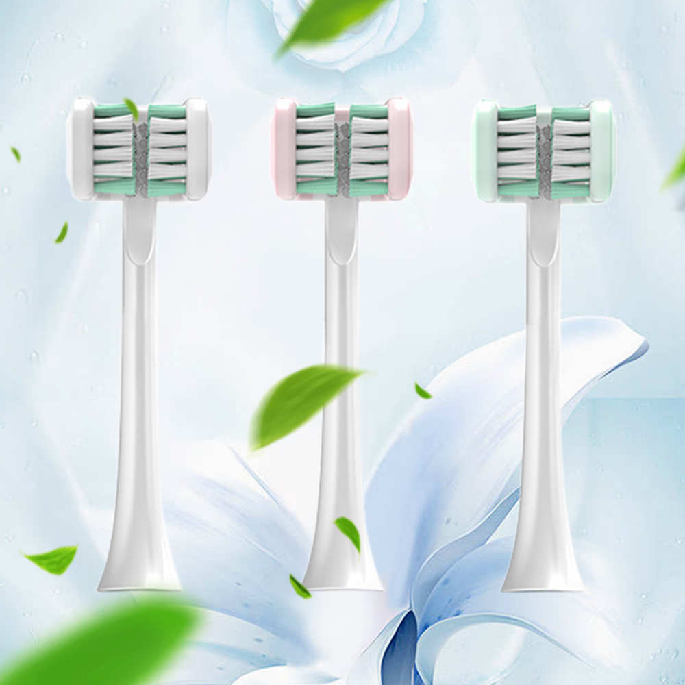 Three-Side Brush Heads For Sonic Electric Toothbrush USB Rechargeable Brush Teeth Head 3D Ultrasonic Toothbrush U-Shaped Timer