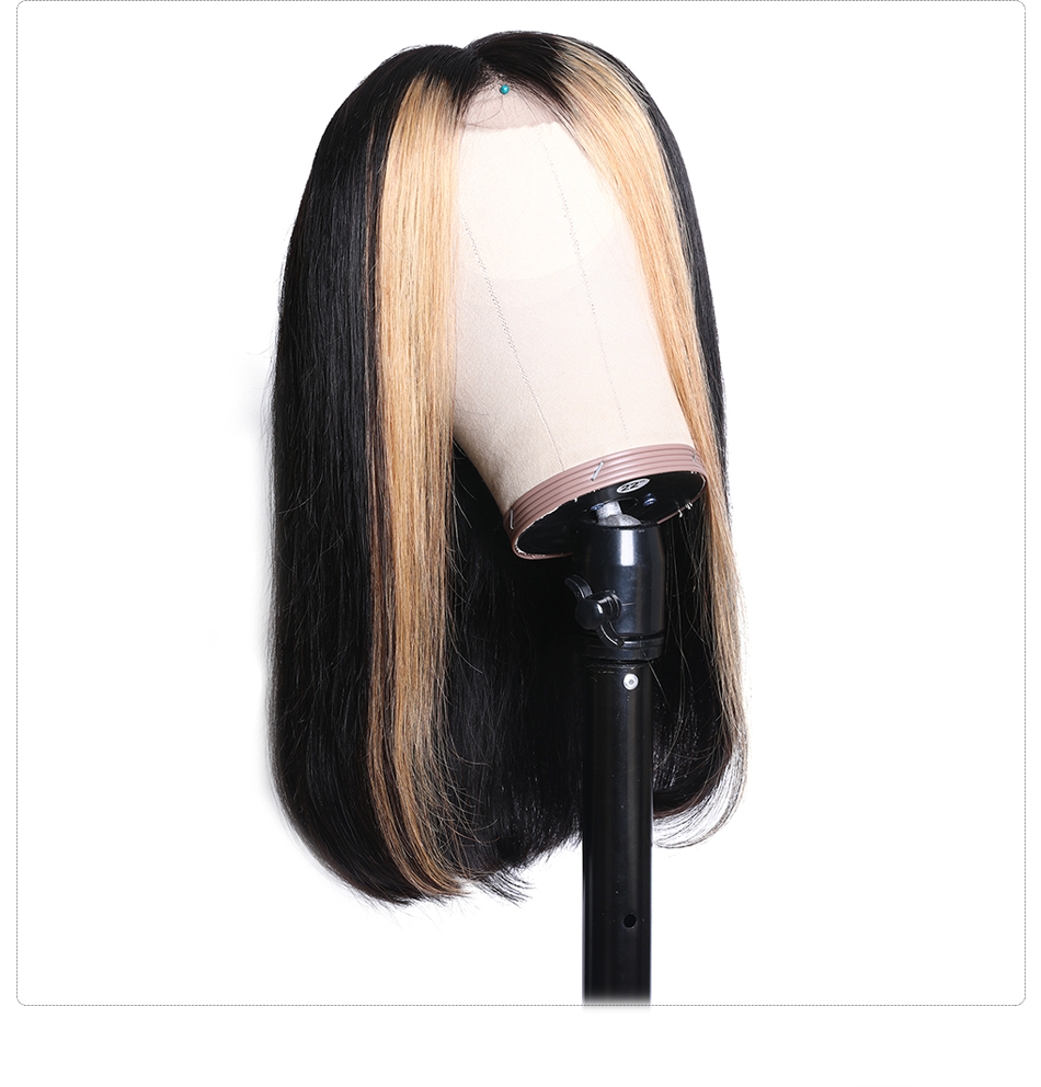 H9f351c695e314c818a401efe802c41a5o Nadula Wig 13*4 Lace Front Wigs For Women Ombre Color With Highlight Human Hair Wig Brazilian Straight Lace Frontal Wigs
