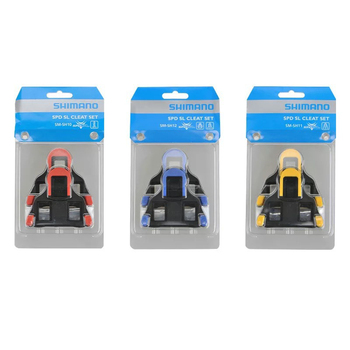 2020 Road Bike Spd Pedals Cleats For Most Cycling Shoes, Self-Locking Pedal Cleat Shimano SH-11 SPD-SL