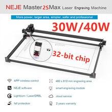 NEW NEJE Master 2s Max 30/40W Professional High Power Laser Engraving Machine Cutting Machine Lightburn Bluetooth App Control