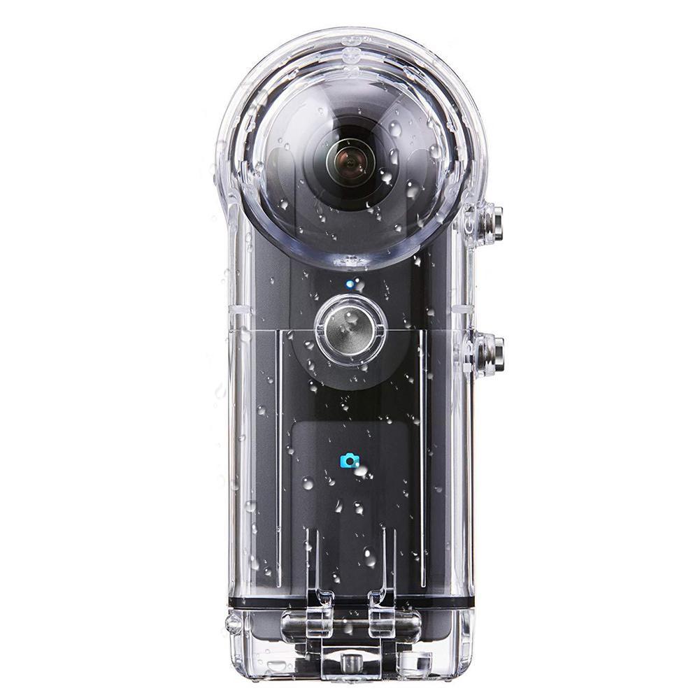 Boîtier de caméra de plongée pour Ricoh Theta SThetaV & SC 360 degrés boîtier de caméra panoramique pour la plongée, le surf, la plongée, la natation - 2