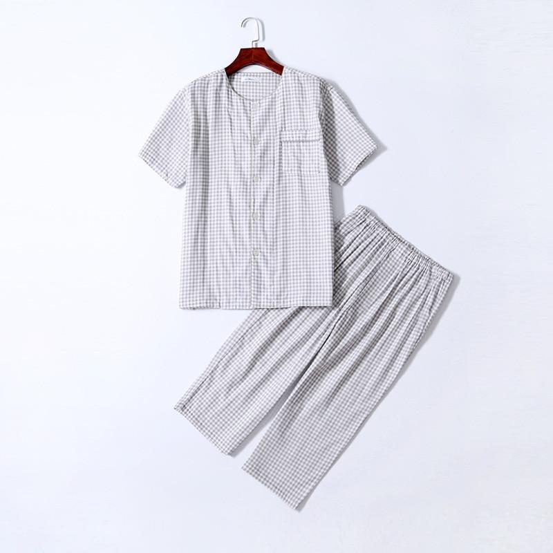 100% Cotton Good For Healthy  Mens Pajamas Mens Pajamas Men Sleepwear 1322