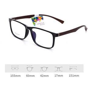 Image 4 - Vazrobe большие очки, оправа для мужчин и женщин 155 мм, широкие стекла, мужские очки по рецепту, выпускные линзы, большие TR90
