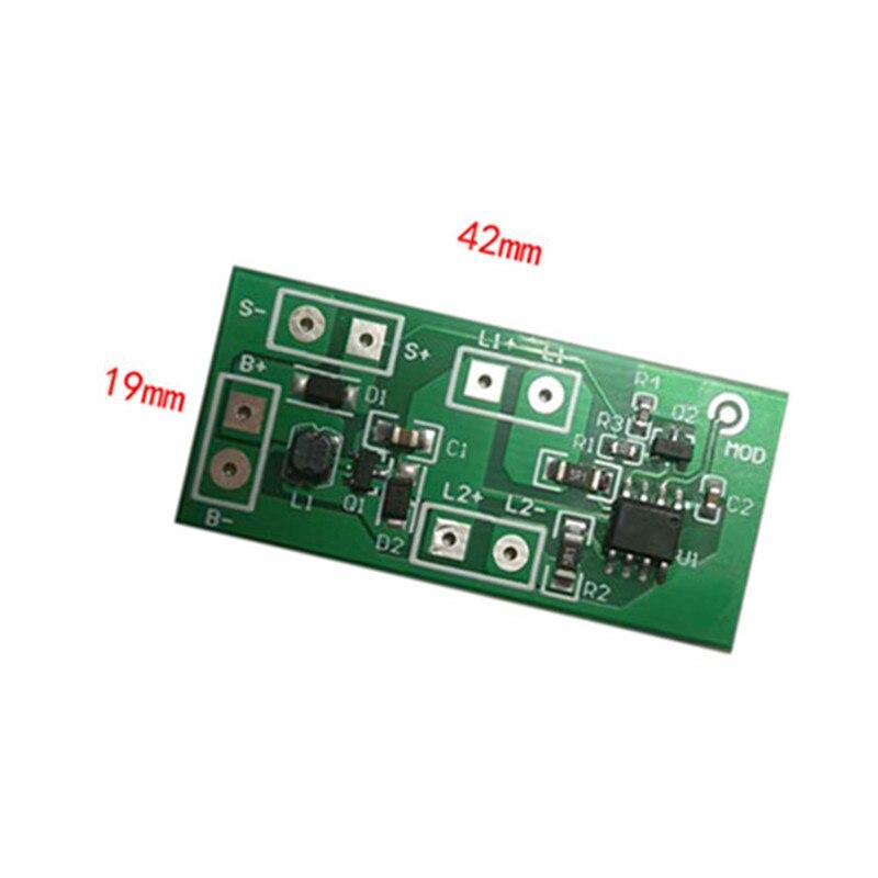Solar Stud Control Board Solar Flashing Light Circuit Board 1.2V3.7V Solar Warning Light Circuit Board
