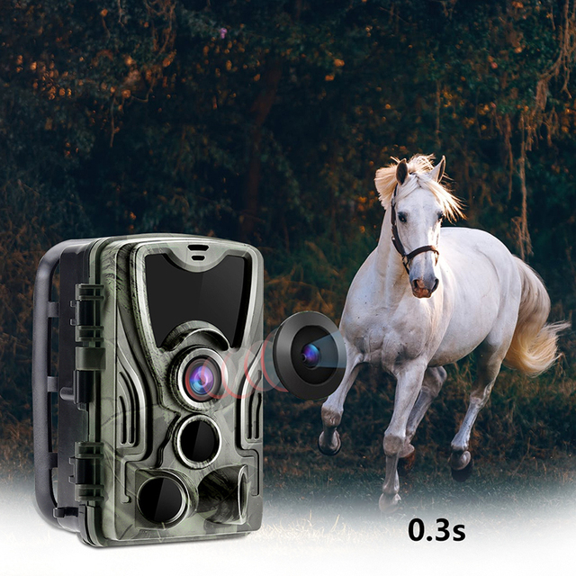 HC801B Hunting Trail Hunting Trap Camera Wild Game Night Animal Thermal Photo Waterproof With 20MP Image Trigger Wildlife Scouti 3