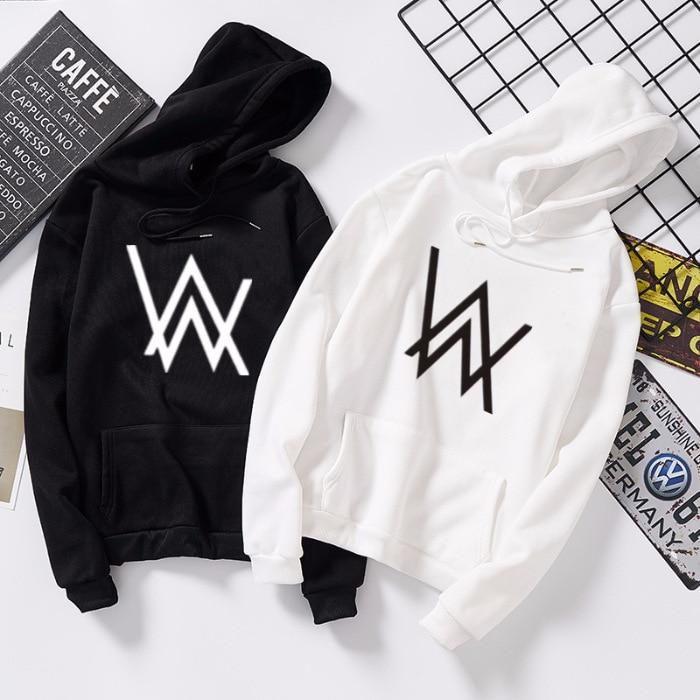 Alan Walker Hoodie Sweatshirt Fade Cosplay Zipper Winter Plus Velvet Thicken Jacket Coats