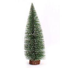 AFBC Мини Рождественская елка маленькая сосновая елка, размещенная на рабочем столе, Рождественское украшение для дома, Рождество