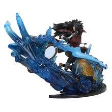 20cm NARUTO Figure Madara Uchiha Figure Tobirama Hashirama Hokage Obito Figura zero Fire Battle Version Toys Christmas Toys