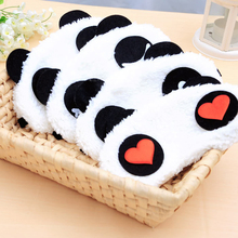 1Pcs Panda Gezicht Eye Travel Slaapmasker Blinddoek Leuke Kerstcadeau