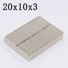 30/100 Pcs 20x10x3 Block…