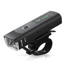 Bicycle LED Headlight Induction Bike Front Light USB Rechargeable Outdoor Mountain Lights Riding
