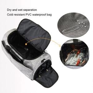 Image 5 - Sports bag Men Gym Bag Women portable Large Capacity Yoga Fitness Training Handbag Bag Striped Sac De Outdoor Sports bag