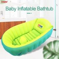 2019 novo grande bebê inflável banheiras de chuveiro dobrável portátil recém-nascido banheira crianças banho infantil lavagem da criança piscina