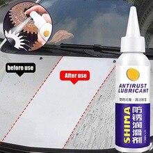 Металлическая поверхность хромированная краска для обслуживания автомобиля железный порошок для очистки от ржавчины быстрая чистка спрей