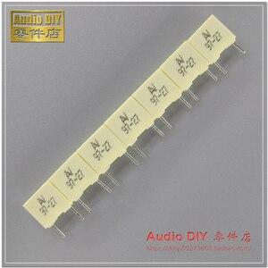 30pcs/50pcs AV R82 series 0.033uF/100V 5% copper film capacitor 33nF 333 feet MKT free shipping