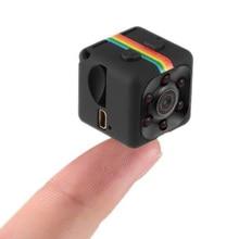 Mini câmera hd 960p pequeno cam sensor filmadora mini câmera de vídeo dvr dv motion recorder filmadora sq11