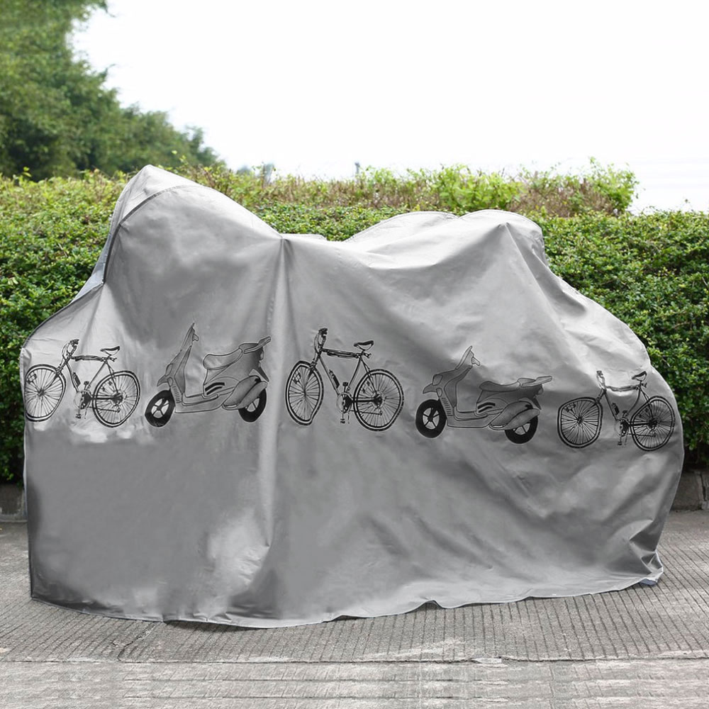 Bicycle Rain Cover Outdoor Waterproof Dustproof Mountain Bike Protection Cover Indoor Bike Protector Covers For Bike Accessories