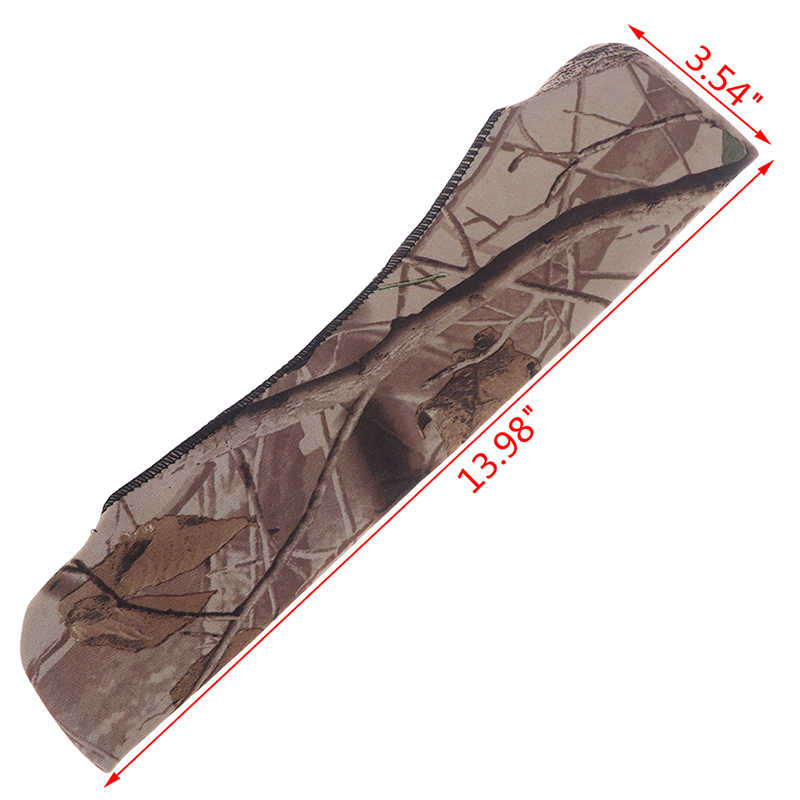 Zakres Cover Gun Rifle kamuflaż akcesoria myśliwskie neopren Protect Scope Cases Hunt Color Random