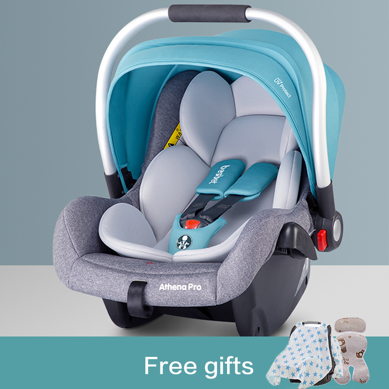 Besbet New High Quality Protable Baby Carrier Child Baby Safety Seat Car With Newborn Car Cradle Portable Sleeping Basket