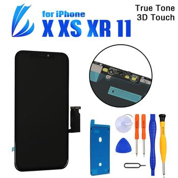 100% Tested LCD Pantalla For iPhone X XR XS 11 Screen Replacement LCD Display 3D Touch Screen Phone Part Digitizer Assembly+Tool 100% tested lcd pantalla for iphone x lcd xs xr 11 screen lcd display touch screen digitizer assembly for iphone x xs xsmax oled