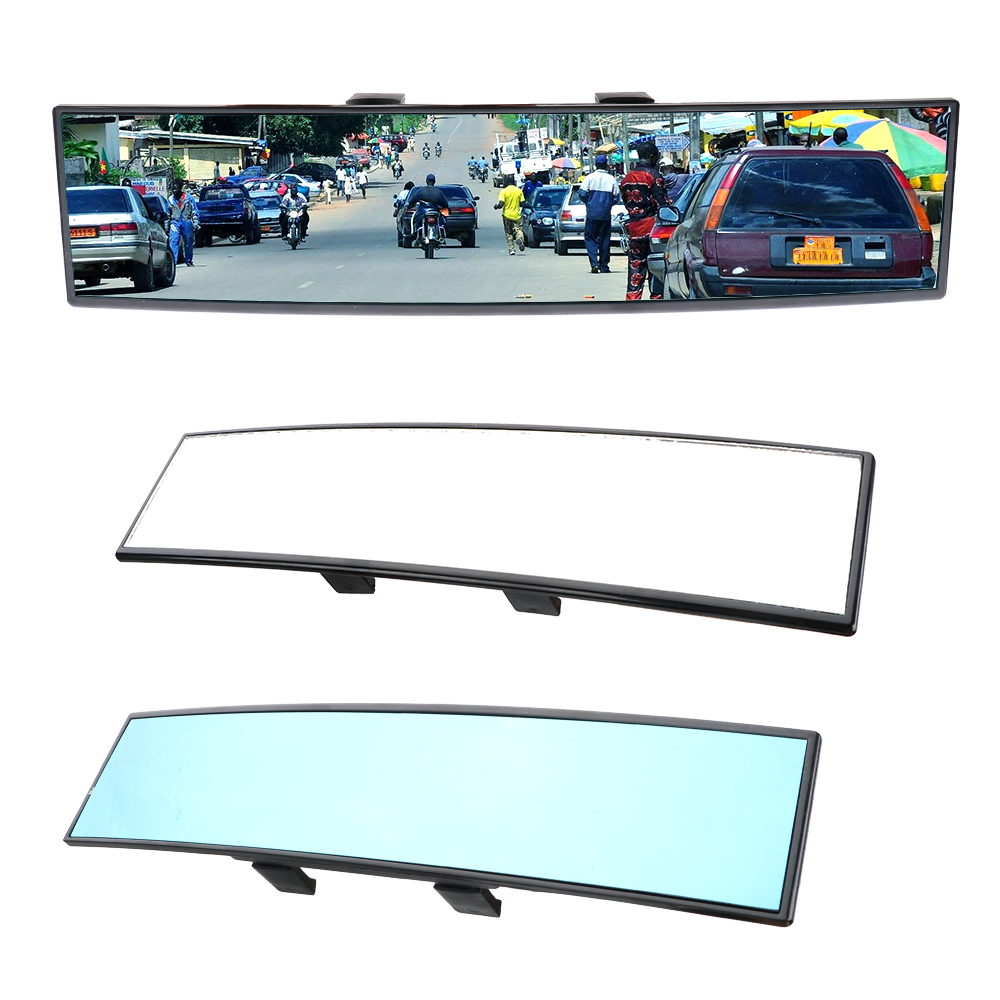 Baby Rearview Mirror Angle Panoramic Auto Assisting Mirror Car Interior Accessories Car Rear View Mirror Large Vision 300mm