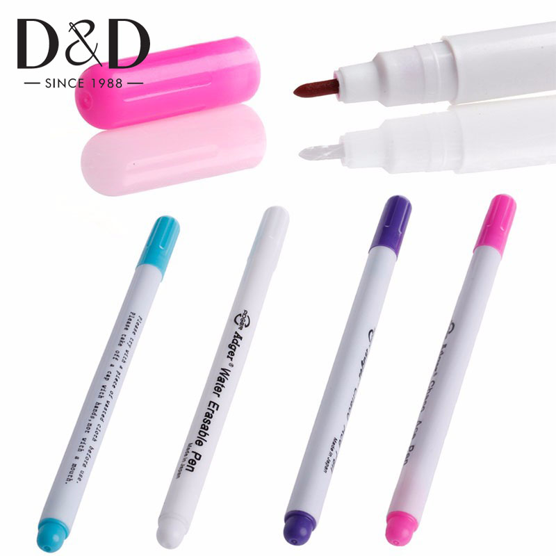 5x Water Erasable Soluble Pen Refill for Fabric Marking Tailor Sewing Tools
