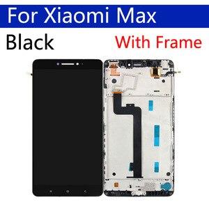 Image 3 - Оригинальный ЖК дисплей 6,44 дюйма для Xiaomi Max, дигитайзер сенсорного экрана с рамкой, сменный дисплей в сборе для Xiaomi Max 1