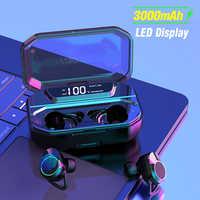 Arlado G02 TWS Bluetooth Kopfhörer Drahtlose Schwere Bass Ohrhörer Touch control Stereo Headset mit Lade box 3000mAh