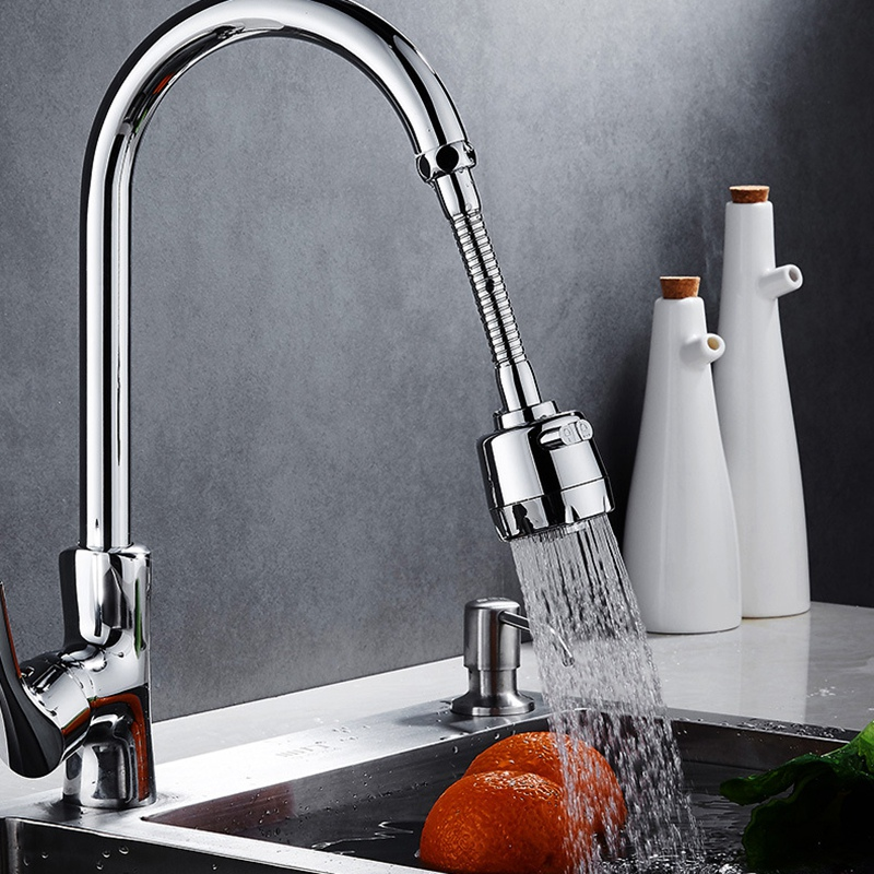 360 градусов Поворотный кран для ванной и кухни спрей-Душ фильтр водосберегающий кран пузырь сопло аэратора фильтр