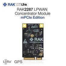 Módulo mini-pcie do concentrador de wislink lpwan baseado no equipamento de gateway de semtech sx1302 iot lorawan 1.0.2 com a microplaqueta de ZOE-M8Q gps