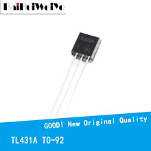 50PCS/LOTE TO92 TL431 TL431A TL431AA TO-92 Regulator Tube Triode Transistor New Original IC Chipset Good Quality