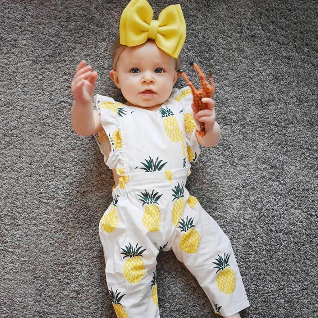 3Pcs babys Sets Neugeborenen Baby Mädchen Kleidung Schöne Obst