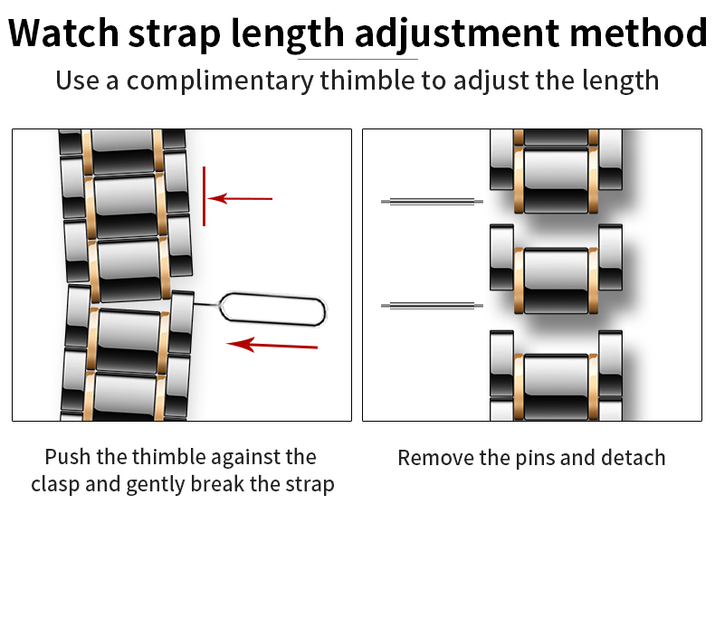 Image 3 - Ceramic Watchband For Apple Watch band Series 5 4 42mm 38mm 44mm 40mm Bracelet for iwatch 5  Ceramic Strap Watch bandWatchbands   -