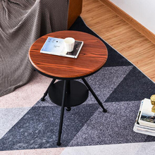Adjustable lift sofa side table creative living room coffee table small round table bedside table home furniture luxury metal round small tea table coffee table with tray storage for sofa bed side living room mesa auxiliar home furniture